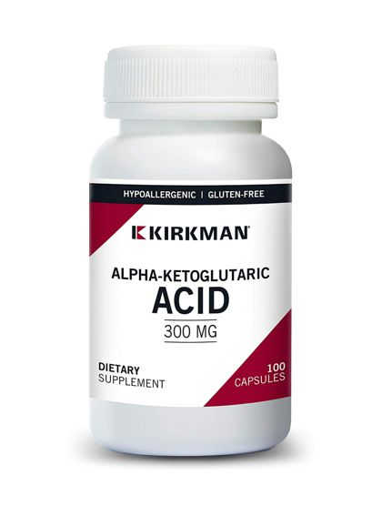 Kirkman Alpha Ketoglutaric Acid 300 mg 100 Caps. The Nutrient Well