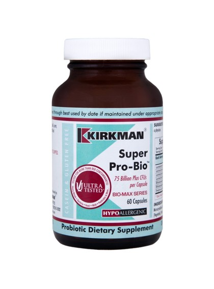 Kirkman Labs South Africa Super Pro Bio 75 Billion Plus | 60 Caps
