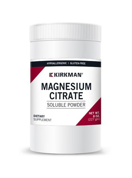 Kirkman Magnesium Citrate Soluble Powder (227g)