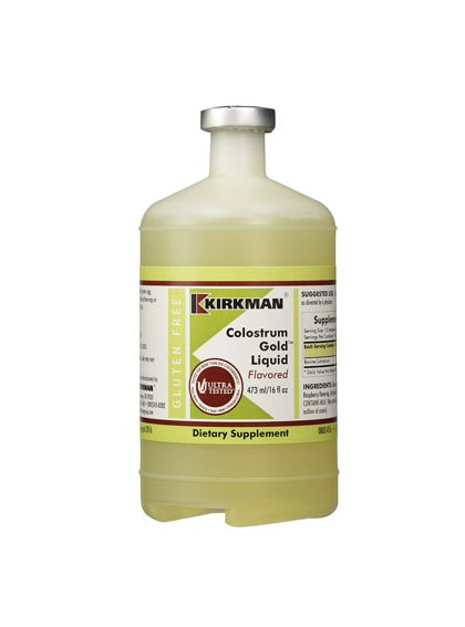 Kirkman Colostrum Gold Liquid Flavored | 473 ml R695.00 The Nutrient Well