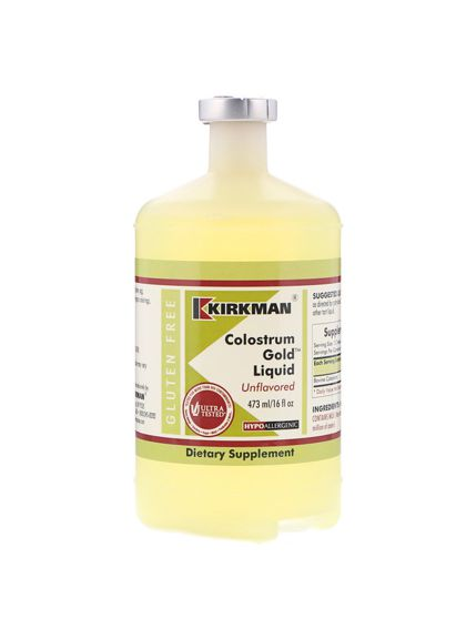 Kirkman Colostrum Gold Liquid Unflavored (473 ml)