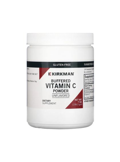 Kirkman Buffered Vitamin C Powder Unflavored