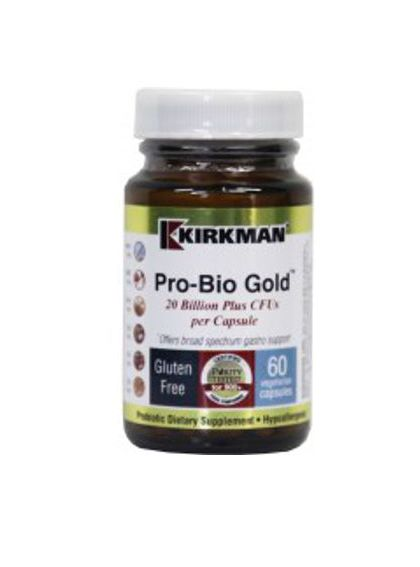 Kirkman Pro-Bio Gold - Hypoallergenic | 120 Caps R505.00 | The Nutrient Well