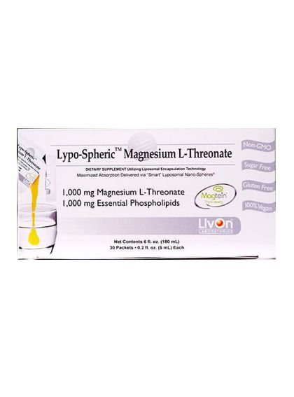 LivOn Labs Lypospheric Magnesium L-Threonate
