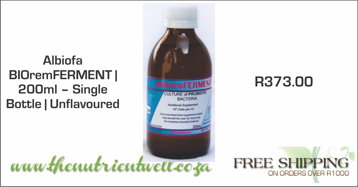 Albiofa BIOremFERMENT   200ml – Single Bottle   R373.00   The Nutrient Well