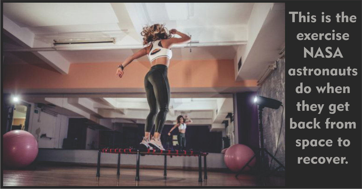 Move over bikes, the benefits of rebounding in fitness are real