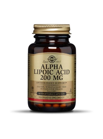 Solgar Alpha Lipoic Acid 200 mg (50 Caps)