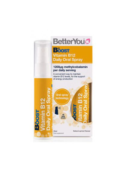Boost Vit B12 Oral Spray (25ml)