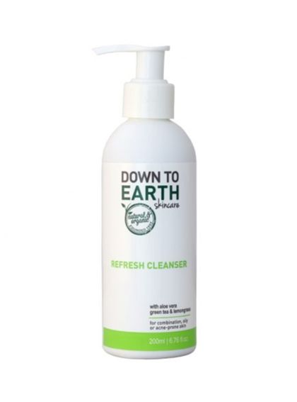 Down to Earth Refresh Cleanser (200ml)